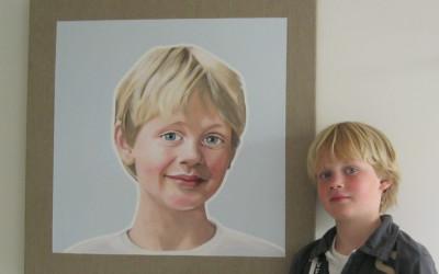 Portret in opdracht Jacqueline Laimböck